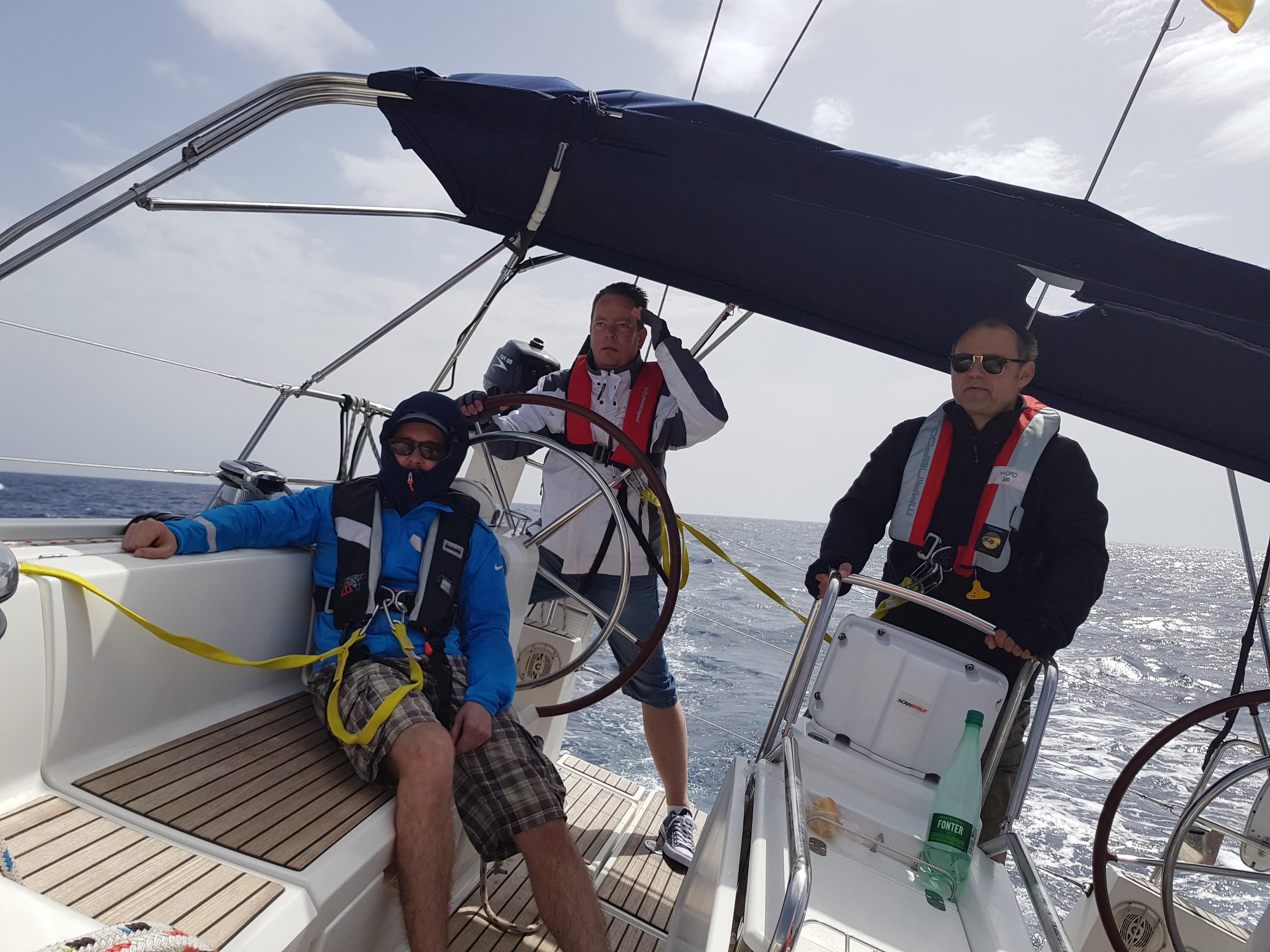 Törn zur Isla Cabrera 2017
