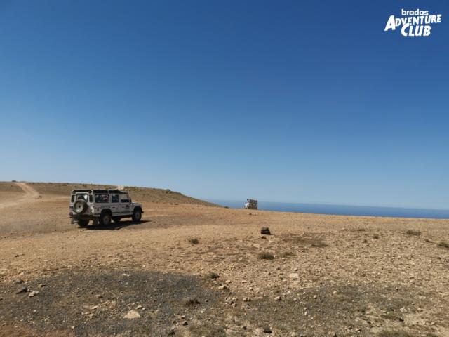 Brodos Adventure Club. Abenteuer Jeep Safari auf Fuerteventura.