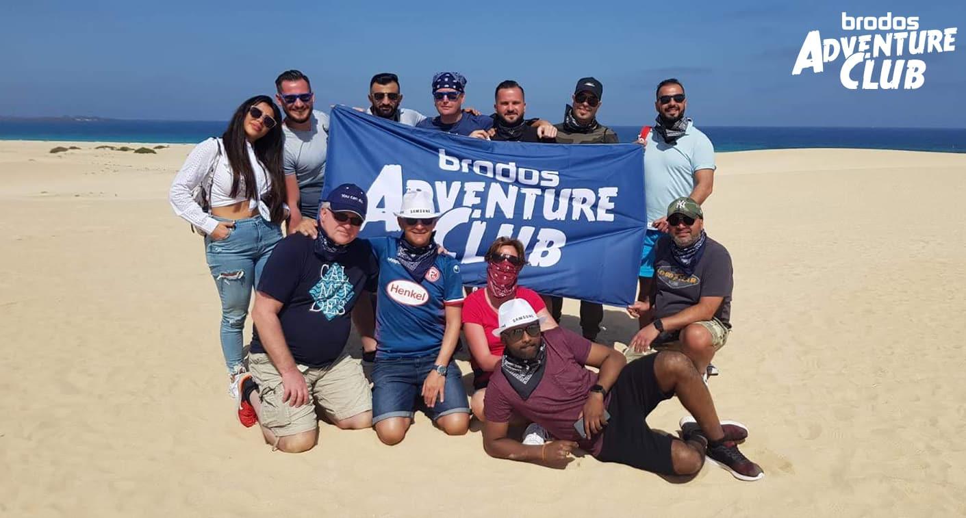 Mit dem Brodos Adventure Club auf große Abenteuertour