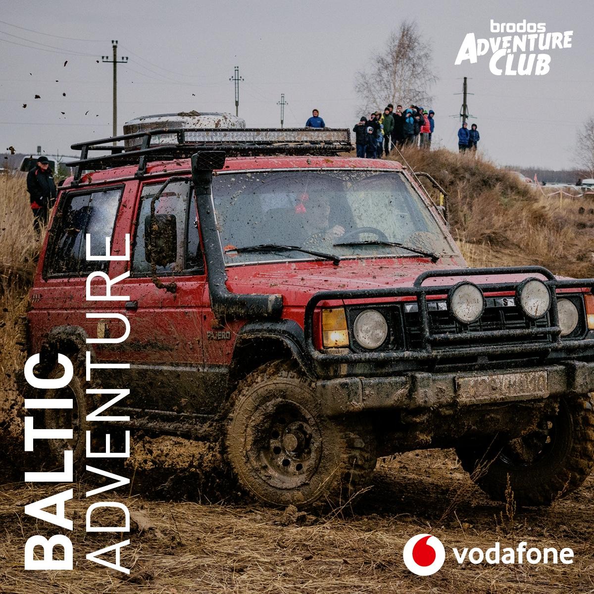 Mit Brodos und Vodafone auf Offroad Abenteuer Reise quer durch Lettland